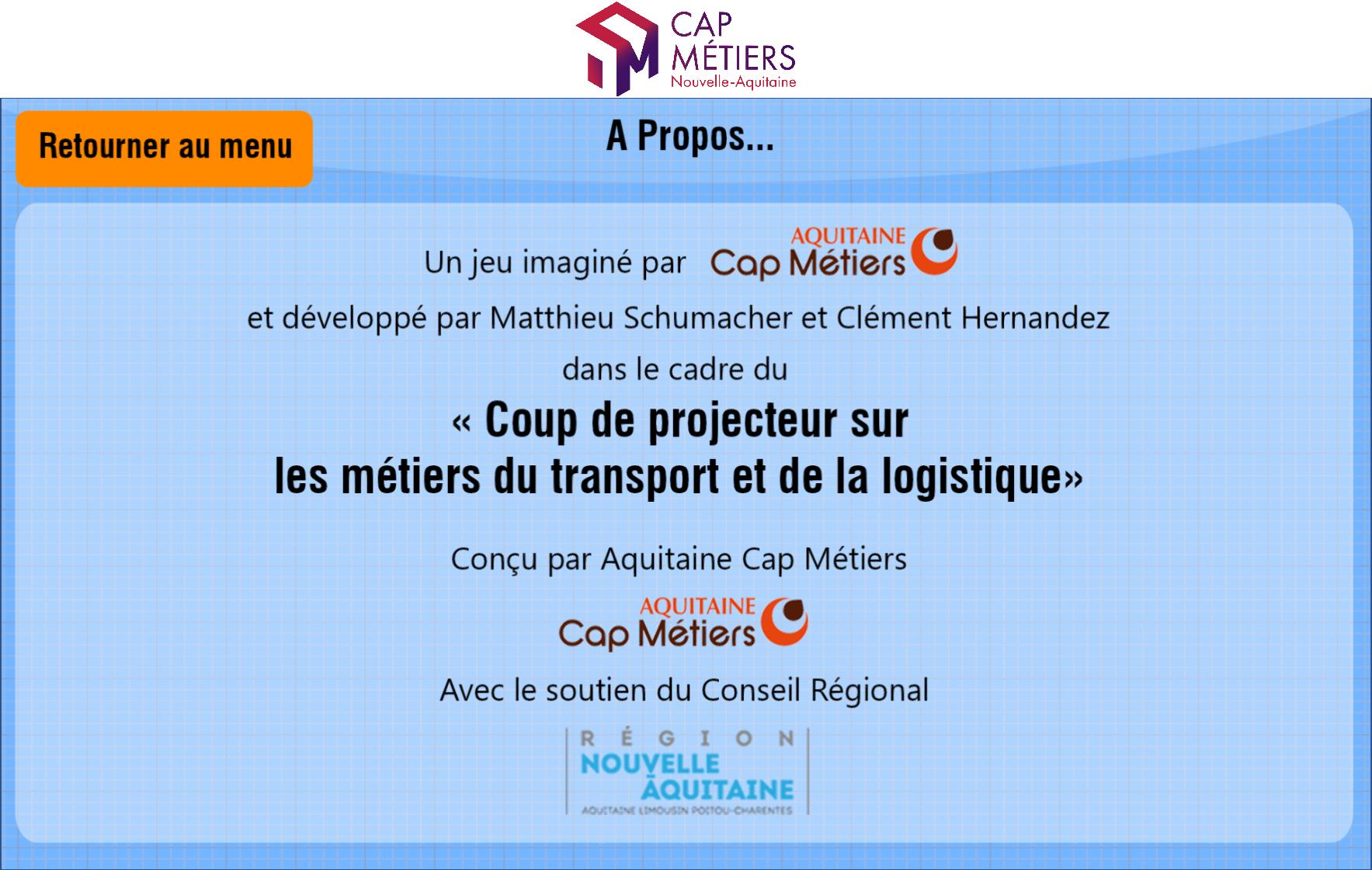 Les Métiers du transport et de la logistique - Cap Métiers Nouvelle-Aquitaine