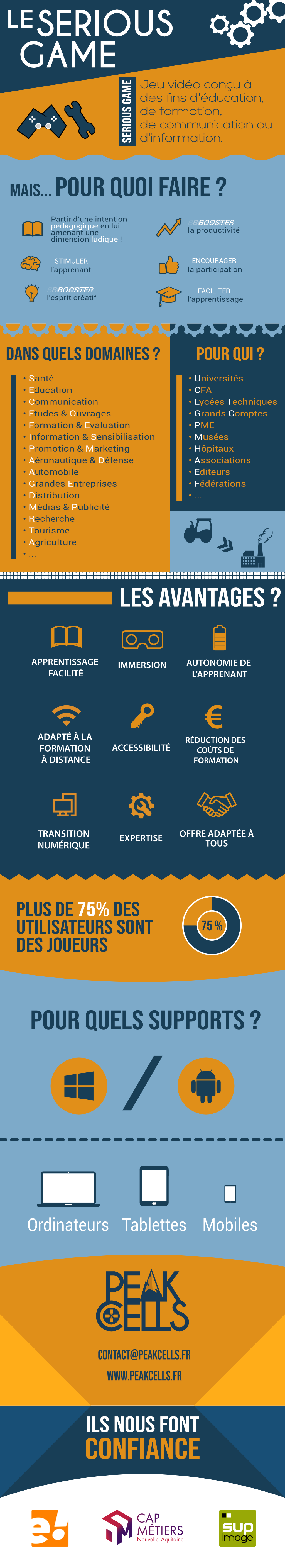 Serious Game - Infographie